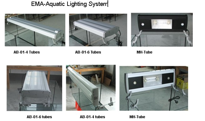 Aquarium lamp in T5 HO tube or T5- LED tube