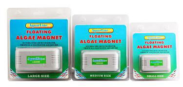 Aquarium Floating magnetic brush cleaner